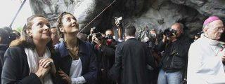 """Ingrid Betancourt pide a la Virgen de Lourdes un """"milagro"""""""