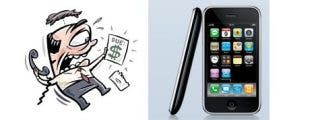 Al final del contrato, el iPhone te habrá costado medio millón de pesetas; vamos, un riñón