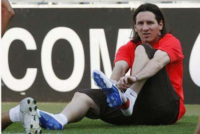 Leo Messi se lo monta con la maciza Luciana Salazar, una chica Play-Boy