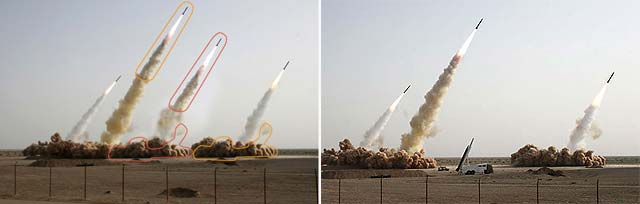 Los ayatolás hacen misiles con photoshop
