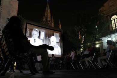 El cine de Nómadas llega a las remotas localidades de los Andes de Perú