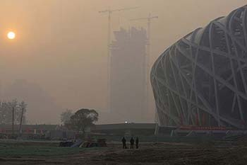 Pekín lucha por limpiar el aire