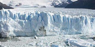 El glaciar Perito Moreno se rompe en pleno invierno austral, por primera vez desde 1917