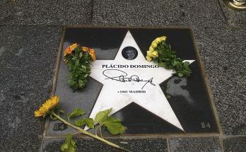 """Plácido Domingo recibe una estrella en """"Paseo de la Fama"""" de Viena"""