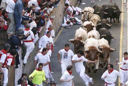 Pamplona se trasnforma en una gran fiesta y un gran hospital