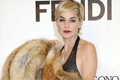 Sharon Stone quería inyectarle bótox a su hijo de 8 años