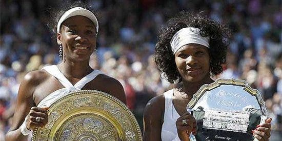 Venus Williams, reina de Wimbledon
