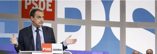 """Zapatero presume de ser """"de izquierdas sin buscar ningún disfraz"""""""