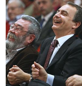 Zapatero compra a precio de oro el silencio de los sindicatos ante la crisis