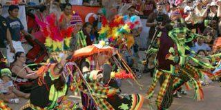 Bolivia celebró su fiesta nacional en el Parque de Atracciones