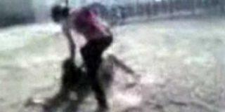 """Propinan brutal paliza a menor ecuatoriana en Madrid, mientras los testigos gritaban: """"¡Mátala, písale la cabeza!"""""""