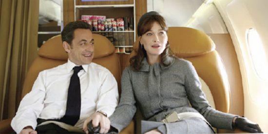 El matrimonio Sarkozy busca piso