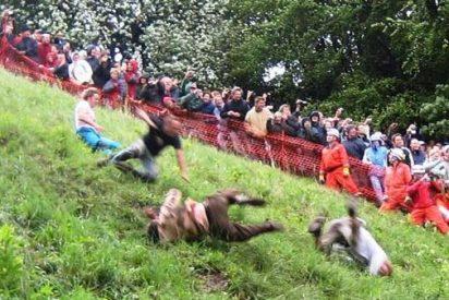¿Participarías en La carrera del Queso de Cooper's Hill?
