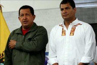 Correa viaja a Venezuela para concretar negocios petroleros con Chávez