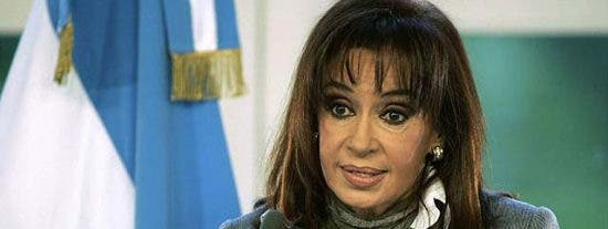 La columnista habitual Cristina Kirchner