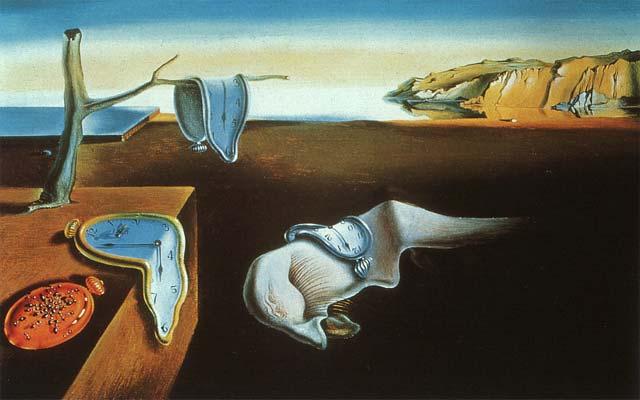 Los relojes blandos de Dalí