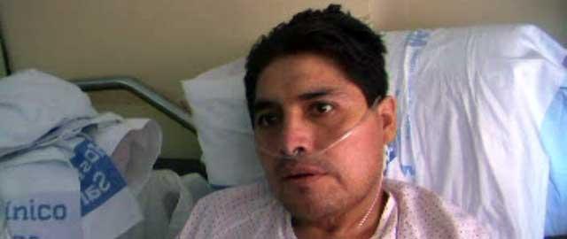 Air Comet lleva a su país al boliviano enfermo