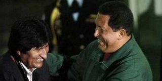 """Oposición boliviana: """"Votar a Morales es votar por Hugo Chávez"""""""