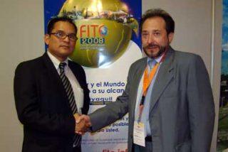 Periodista Latino medio oficial de la FITE 2008 de Guayaquil