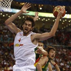 España quiere el oro