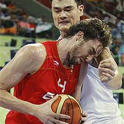 España gana a China en una espectacular remontada