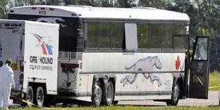 Un pasajero decapita a otro en un autobús