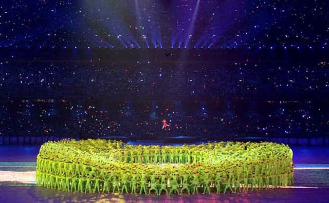 El cuento chino de la inauguración de los Juegos