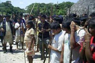 Indígenas del Amazonas se rebelan al gobierno peruano