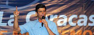 """El """"Gorila Rojo"""" se """"carga"""" al líder opositor más popular de Venezuela"""