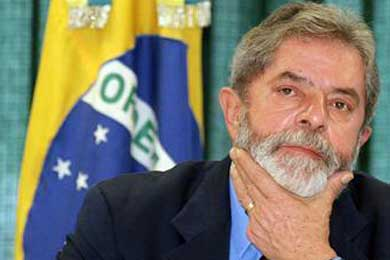 Lula está convencido de que Brasil superará la crisis antes que otros países