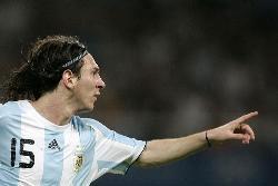 Messi da la victoria a Argentina en los Juegos