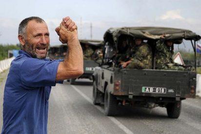Brutales combates entre tropas rusas y georgianas por el control de Osetia