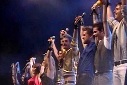 Multitudinario concierto de los concursantes de OT´08 en Cádiz