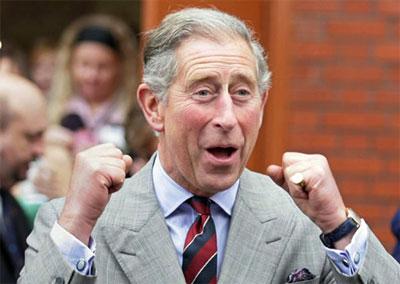 Los cuatro huevos del príncipe Carlos