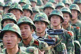 """Militares, sonrían, por favor"""