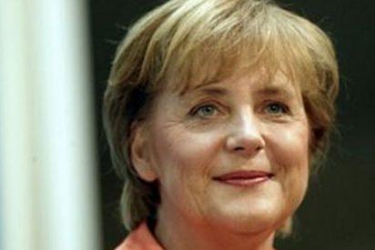 Merkel revela su afición por barra fija de gimnasia