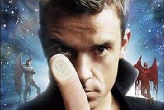 A Robbie Williams le ha visitado un alien