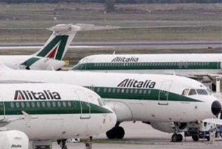 Alitalia se quedará en tierra a partir del lunes por falta de combustible