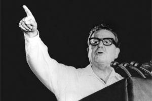 """Polémica tras nombrar a Allende el chileno """"más grande"""""""