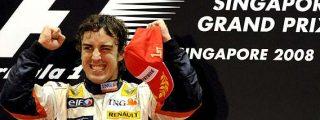 ¡Fernando Alonso logra el milagro de Singapur!