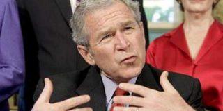 """Bush defiende su decisión de pagar """"un precio grande para un problema grande"""""""
