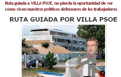 La prensa gallega veta una publicidad que ironizaba sobre Villa PSOE