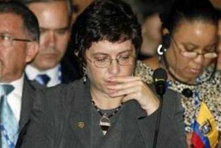 La canciller de Ecuador critica en el Foro andino la política migratoria de la UE