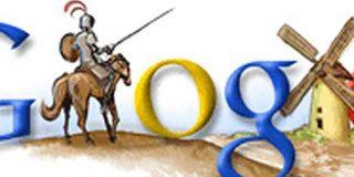 Google rinde tributo a Cervantes