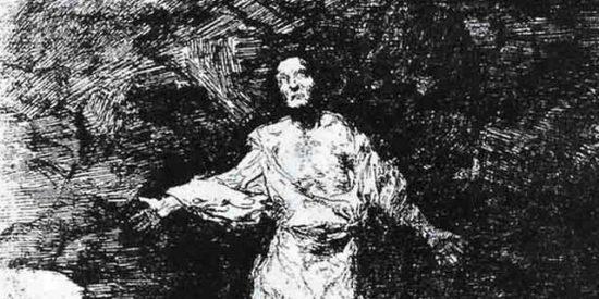 Roban en Bogotá un grabado de Goya