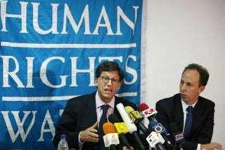 """HRW critica el """"desprecio"""" de Chávez a los derechos y la situación en Colombia y Cuba"""