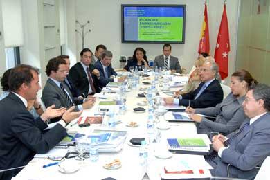 Javier Fernández-Lasquetty se reunió con embajadores latinoamericanos