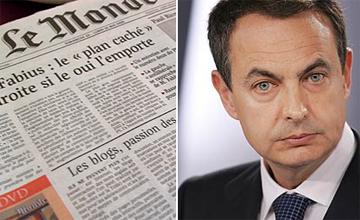 """Le Monde: """"La economía española está en punto muerto"""""""