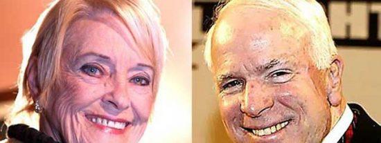 "Brasileña tuvo un ""ardiente romance"" con John McCain"