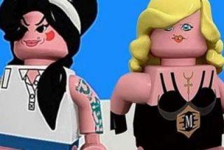 """Madonna en """"Legolandia"""""""